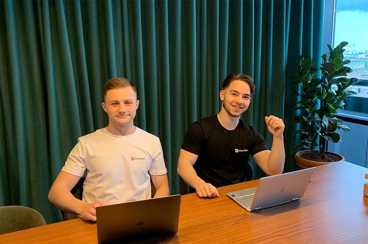 Twee studenten zetten een potentieel levensreddend bedrijf op