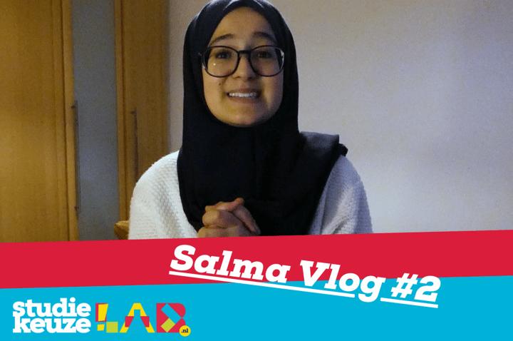 Hoe was de Studiekeuzelab Voorlichtingsweek? Salma vertelt het!