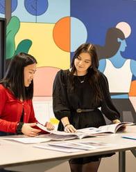 Deze drie studenten doen een creatieve studie op het mbo om door te groeien